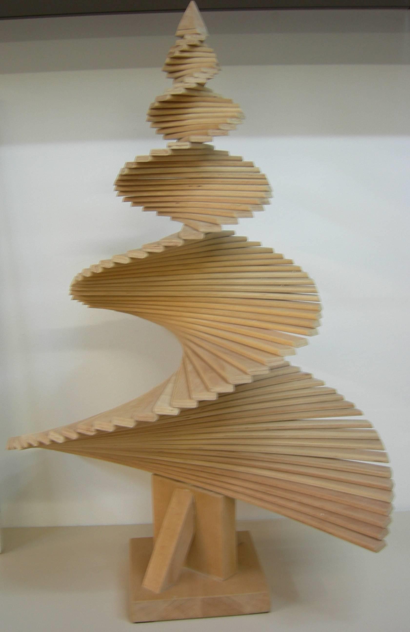 Alberi di natale in legno vendita idee di design nella for Essere minimalisti