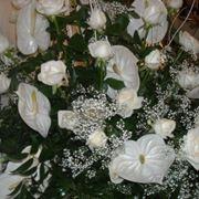 Bouquet Anthurium Bianco