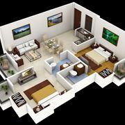 Pianta casa in 3D