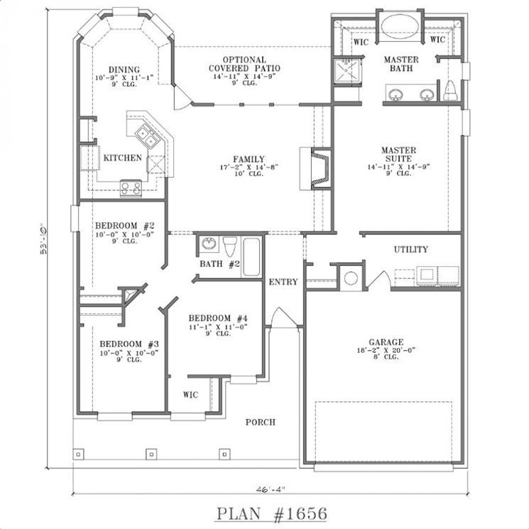 Pianta casa piante appartamento disegnare la pianta di for Planimetrie della master suite