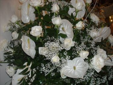 addobbo floreale di un matrimonio