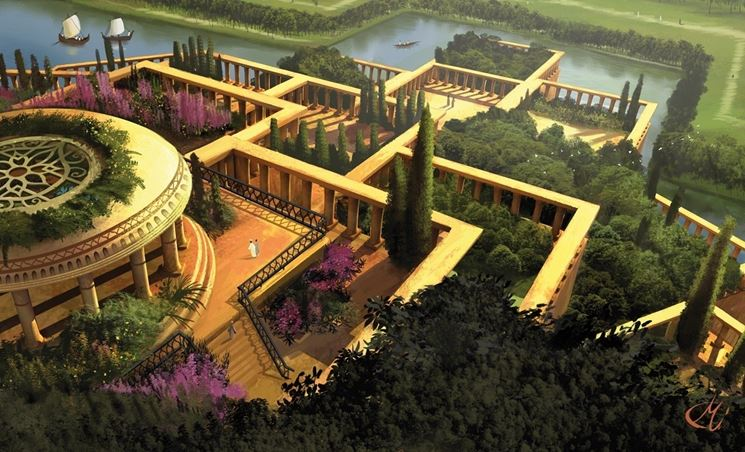 Gli originali giardini pensili di babilonia