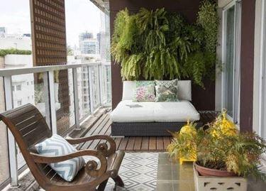 piante balcone contemporaneo