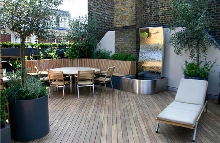 Terrazzi e balconi piante da terrazzo caratteristiche for Terrazzi arredati