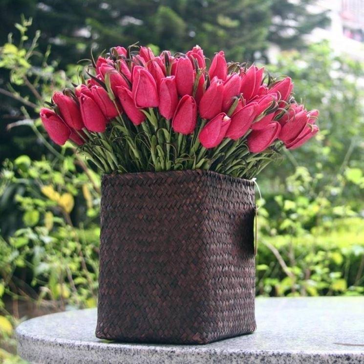 Vaso fiori piante da terrazzo vaso di fiori - Piante vaso da esterno con fiori ...