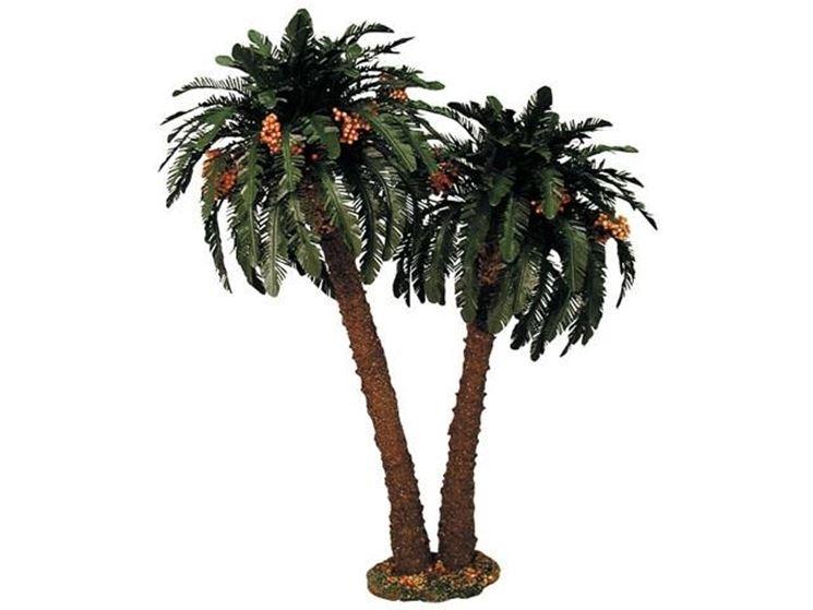 Un esemplare di palma in plastica