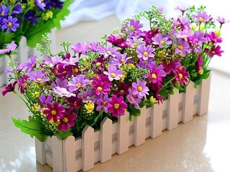 Decorazioni fiori finti piante finte decorazioni fiori - Piante da interno con fiori ...