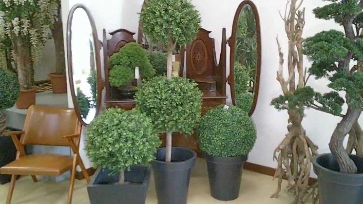 Piante e fiori artificiali piante finte piante finte for Piante appartamento design